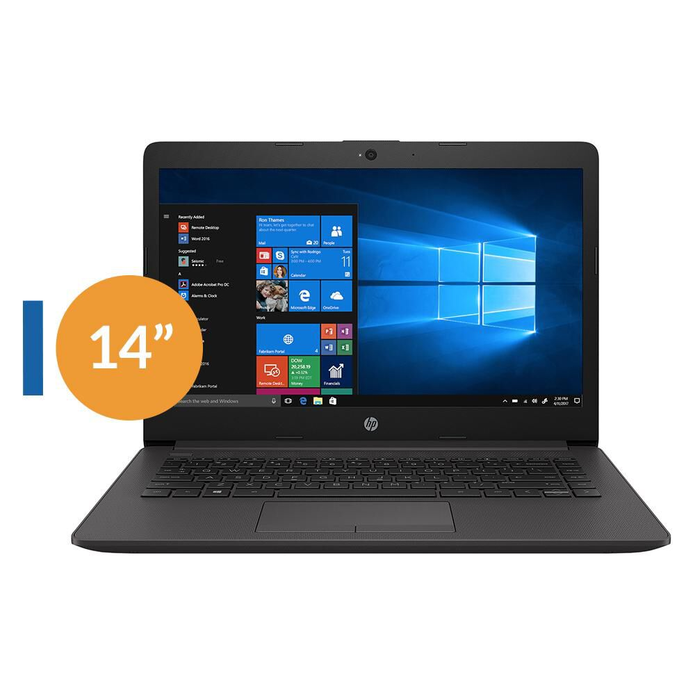 "Notebook Hp 240 G7 / Intel Celeron / 4 GB RAM  / 500 GB / 14"" image number 0.0"