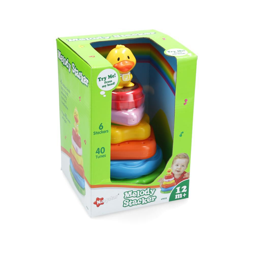 Figuras Educativas Navystar 69028 Patito Musical image number 0.0