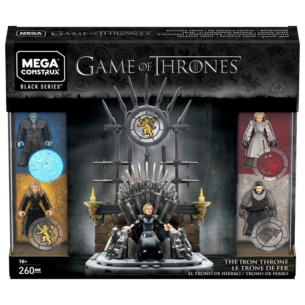 Juguete Interactivo Game Of Thrones Trono De Hierro, 260 Bloques image number 5.0