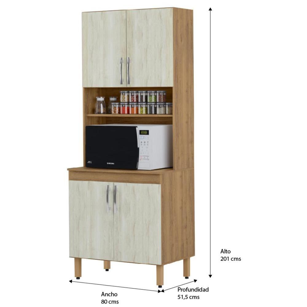 Mueble De Cocina Home Mobili Kalahari/montana / 4 Puertas image number 4.0