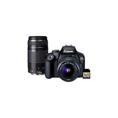 Cámara Fotográfica Eos T100 Premium Kit