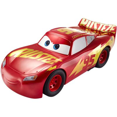 Auto De Juguete Cars Rayo Mcqueen Rust-Eze A Gran Escala