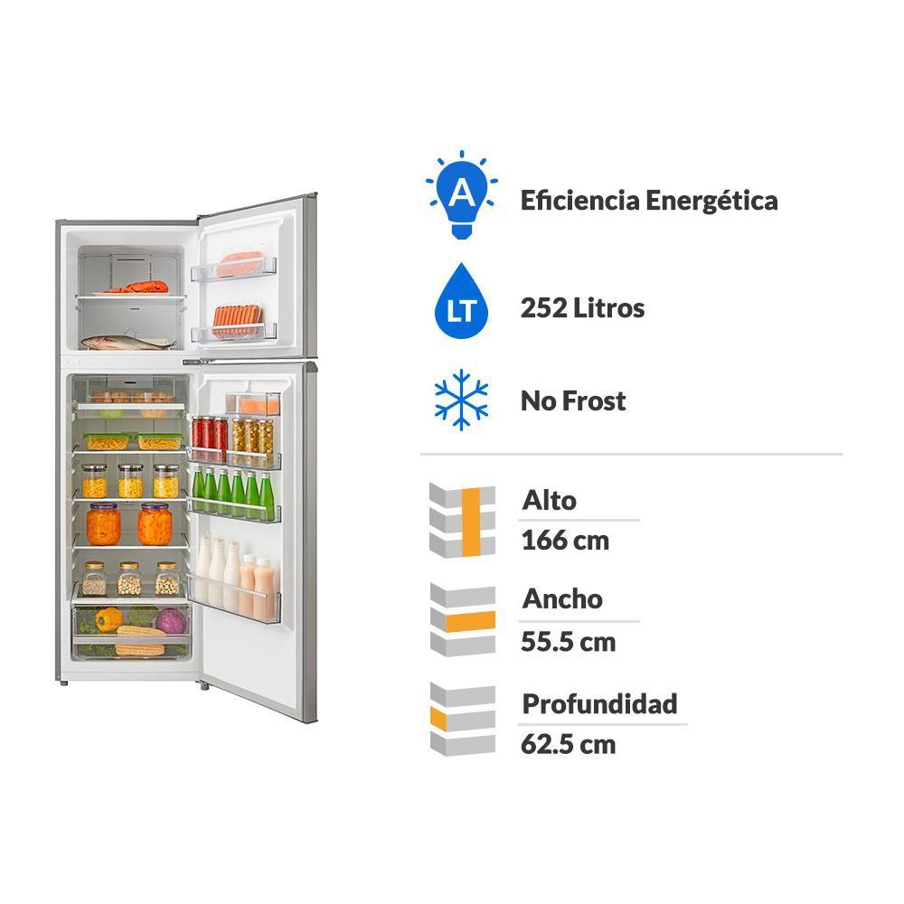 Refrigerador Bottom Freezer Kubli Convencional/ No Frost / 252 Litros / A image number 1.0