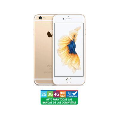 Iphone Apple 6s Oro Reacondicionado / 128 Gb / Liberado