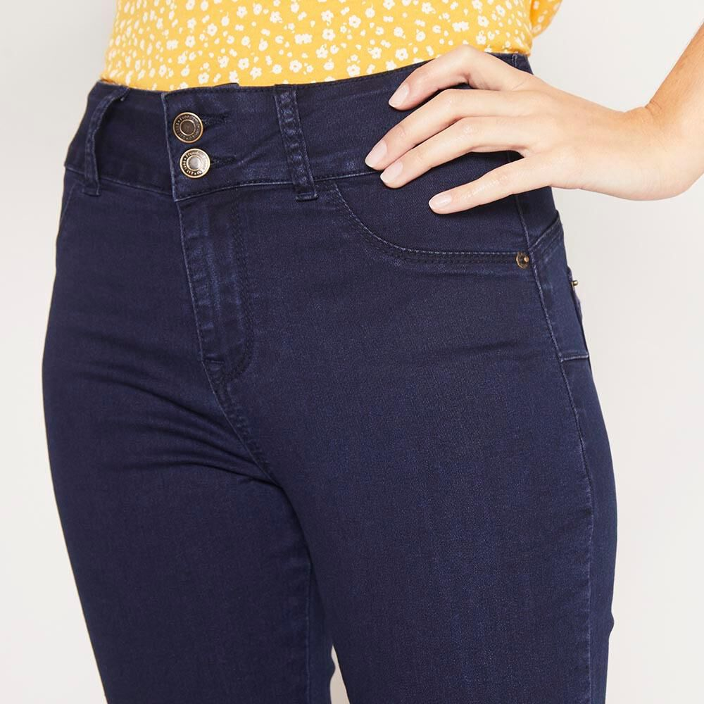 Jeans Mujer Tiro Alto Push up Freedom image number 4.0