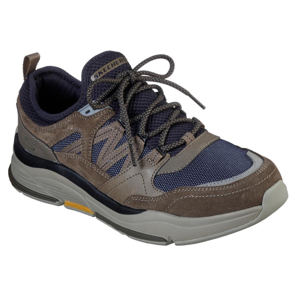 Zapato Casual Hombre Skechers Benago-Flinton image number 0.0