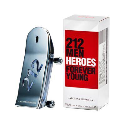 Perfume 212 Heroes Carolina Herrera / 50 Ml / Eau De Toillete
