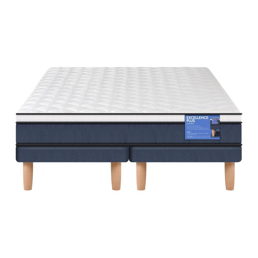 Cama Europea Cic Excellence Plus / 2 Plazas / Base Dividida image number 1.0