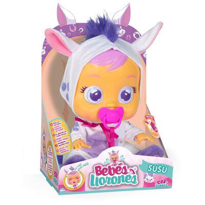 Muñeca Cry Babies Bebes Llorones Susu
