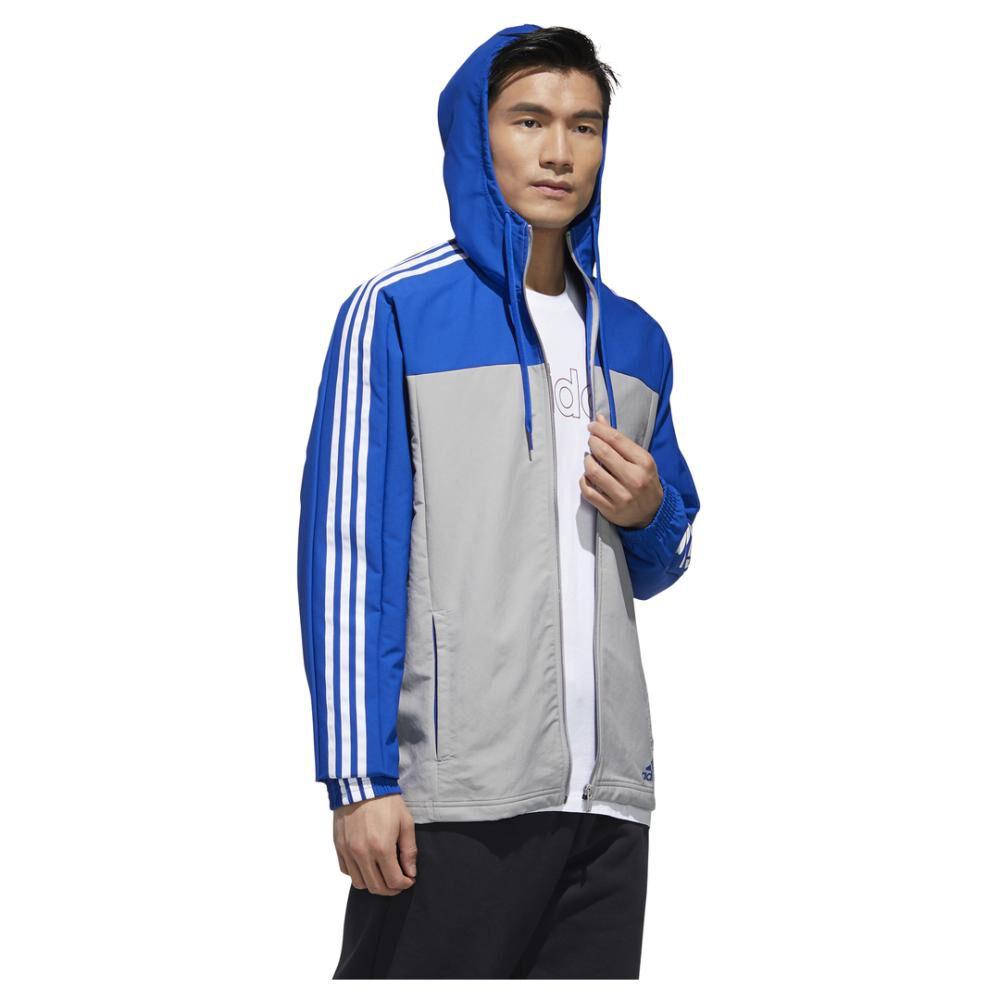 Polerón Deportivo Hombre Adidas Essentials Windbreaker image number 2.0