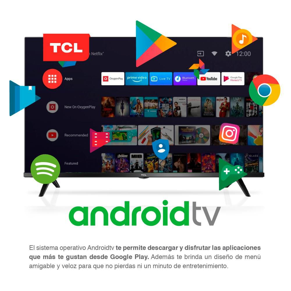 """Led TCL 32s60 / 32""""/ HD / Android Tv image number 5.0"""