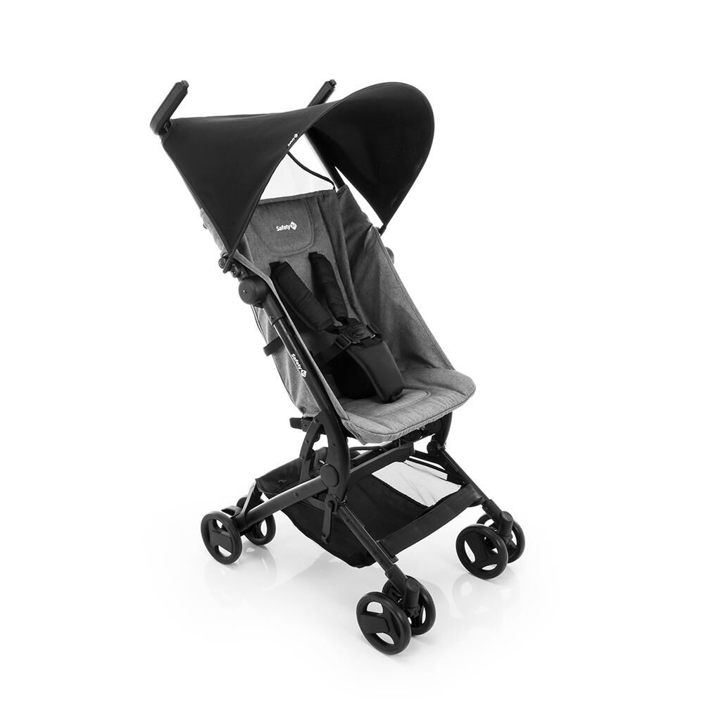 Coche De Paseo Safety Micro Grey Denim image number 1.0