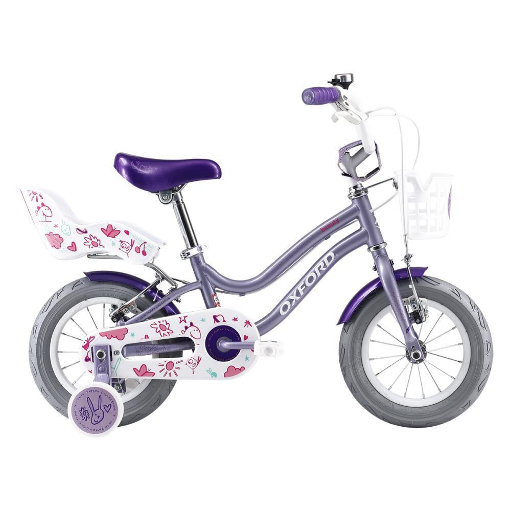Bicicleta Infantil Oxford Beauty Aro 12 image number 0.0