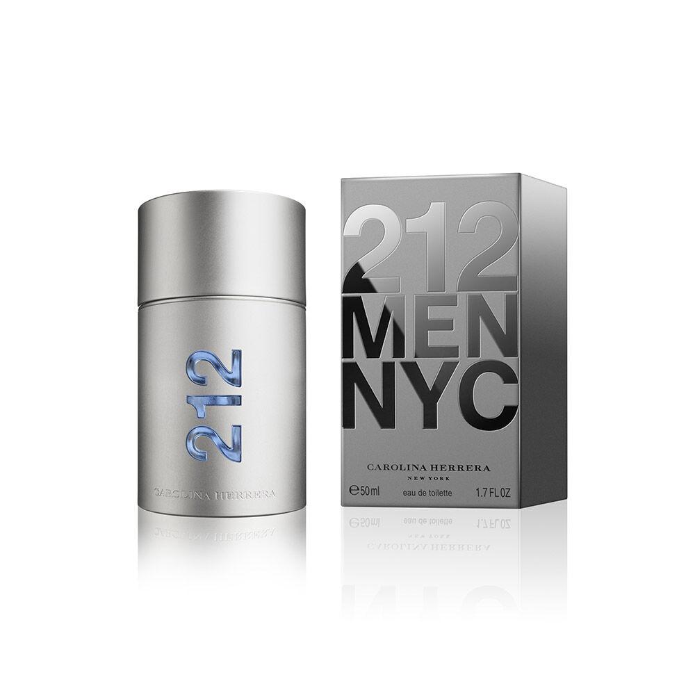 Perfume Carolina Herrera 212 Men Eau De Toilette / 50 Ml image number 0.0