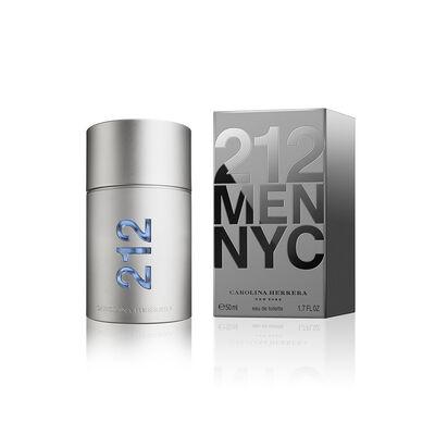 Perfume Carolina Herrera 212 Men Eau De Toilette / 50 Ml