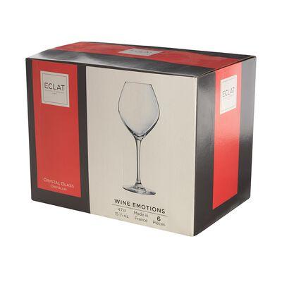 Set De Copas De Vino Blanco Eclat Wine Emotions / 6 Piezas