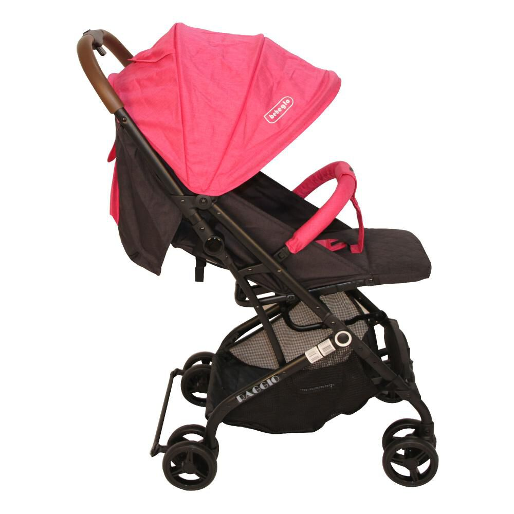 Coche Travel System Compacto Bebeglo RS-13785-2 Fucsia image number 4.0