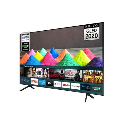 "Qled Samsung 50Q60TA / 50"" / Ultra Hd / 4K / Smart Tv"