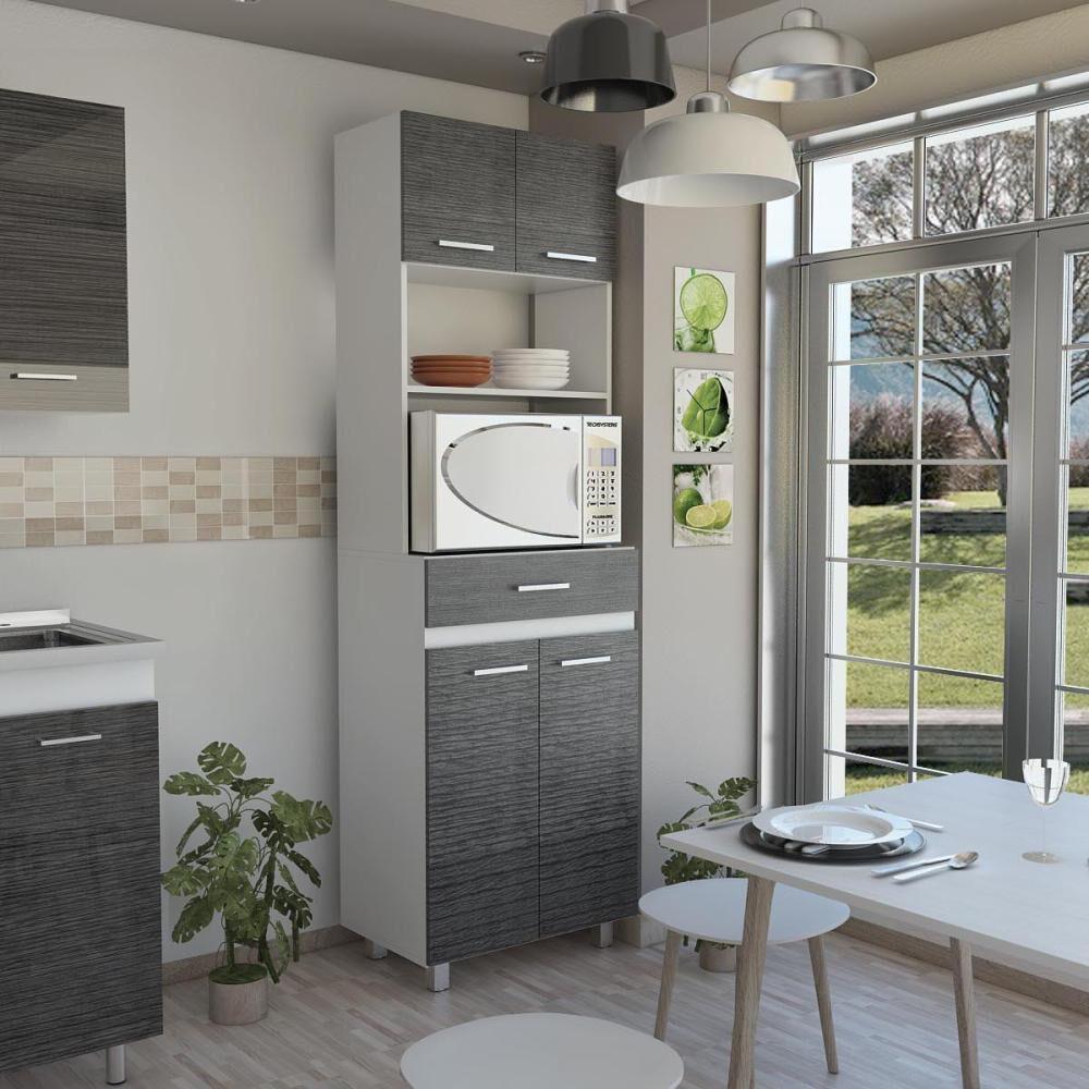 Mueble De Cocina Tuhome Sicilia / 4 Puertas / 1 Cajón image number 0.0