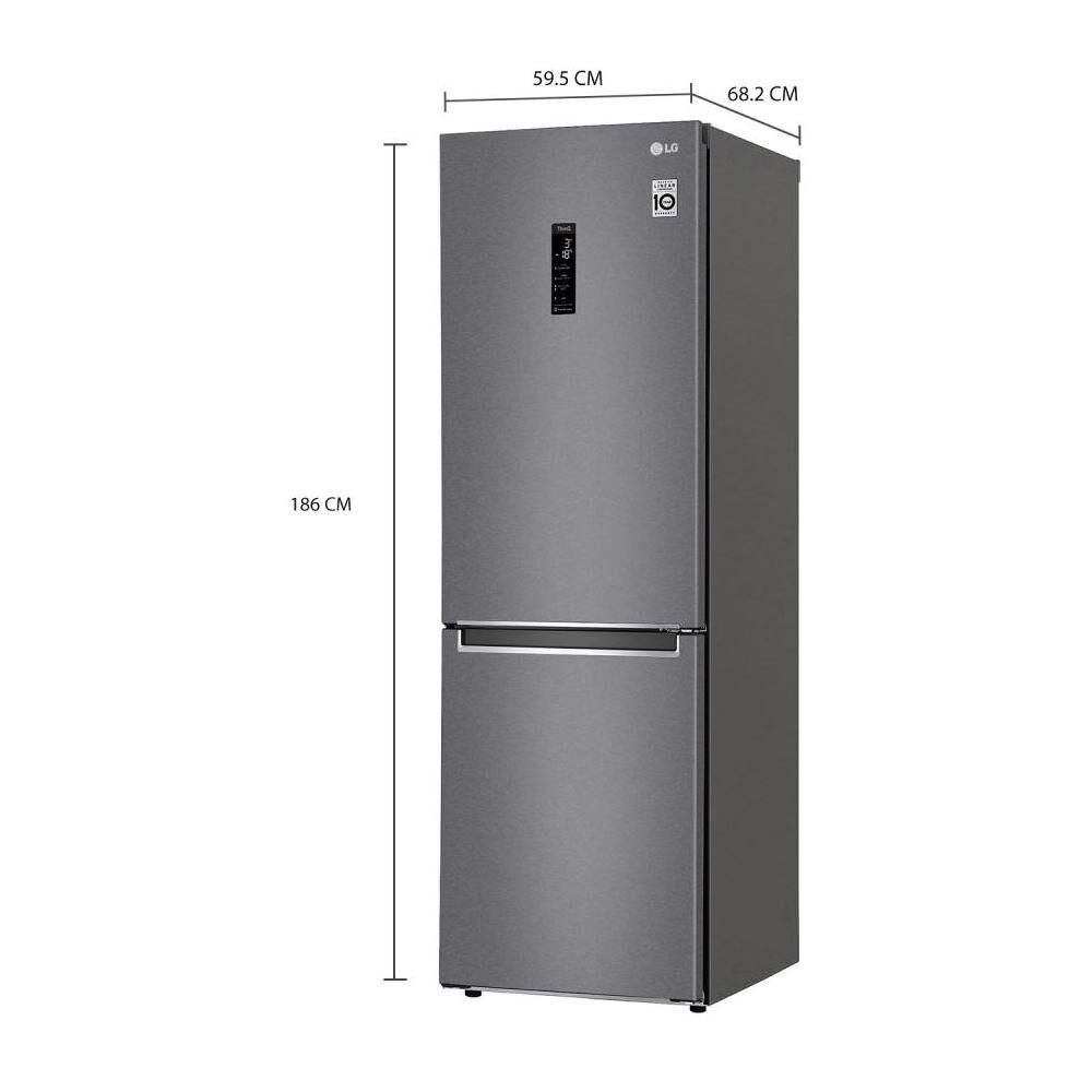 Refrigerador Bottom Freezer LG GB37MPD / No Frost / 341 Litros image number 9.0