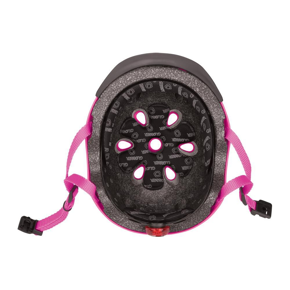 Casco Globber Helmet Elite Lights Pink  Xs/S image number 3.0