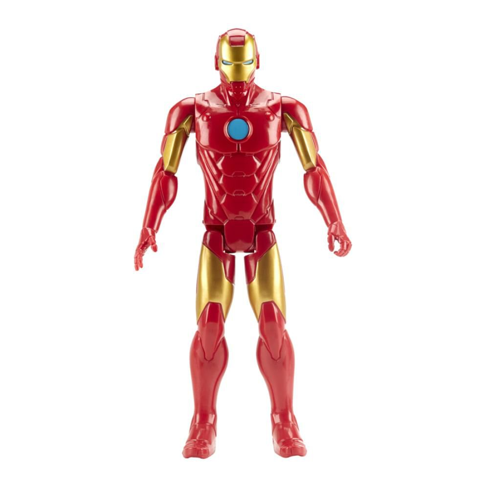 Figura De Accion Avenger Titan Hero Movie Iron Man image number 0.0