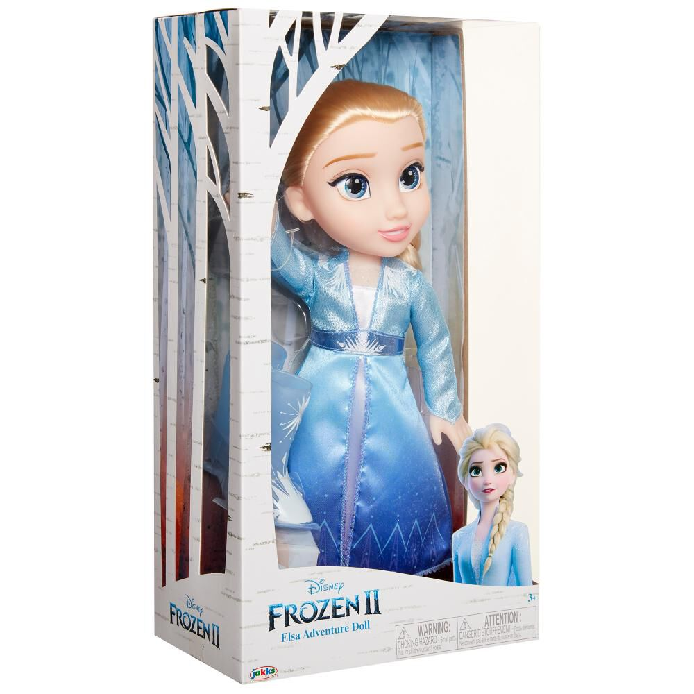 Muñecas Toddler Frozen 2 Elsa image number 5.0