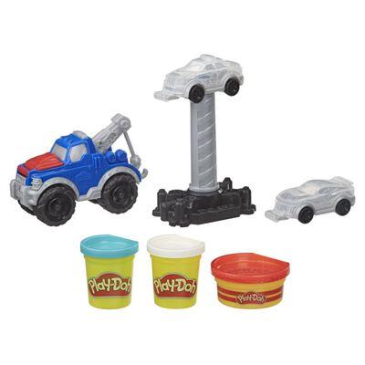 Masas Educativas Play Doh Wheels Camión Grúa