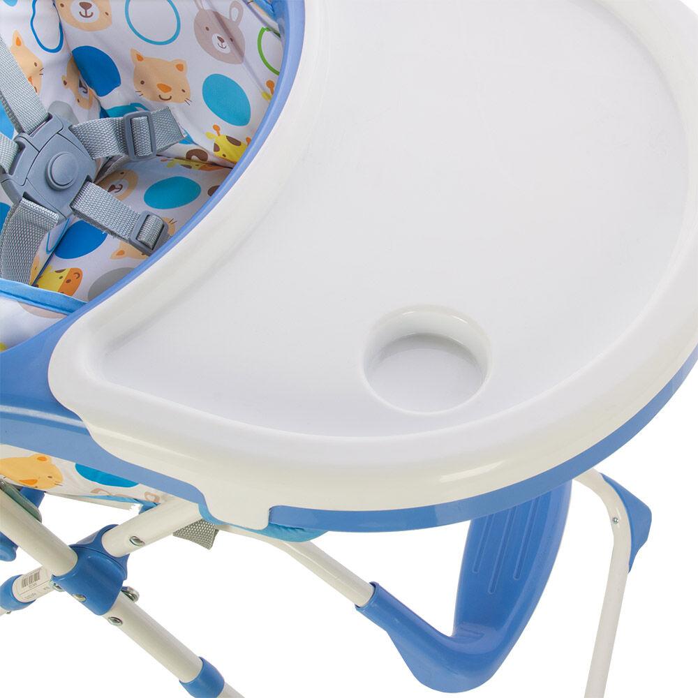 Silla De Comer Infanti Zoo Blue image number 4.0