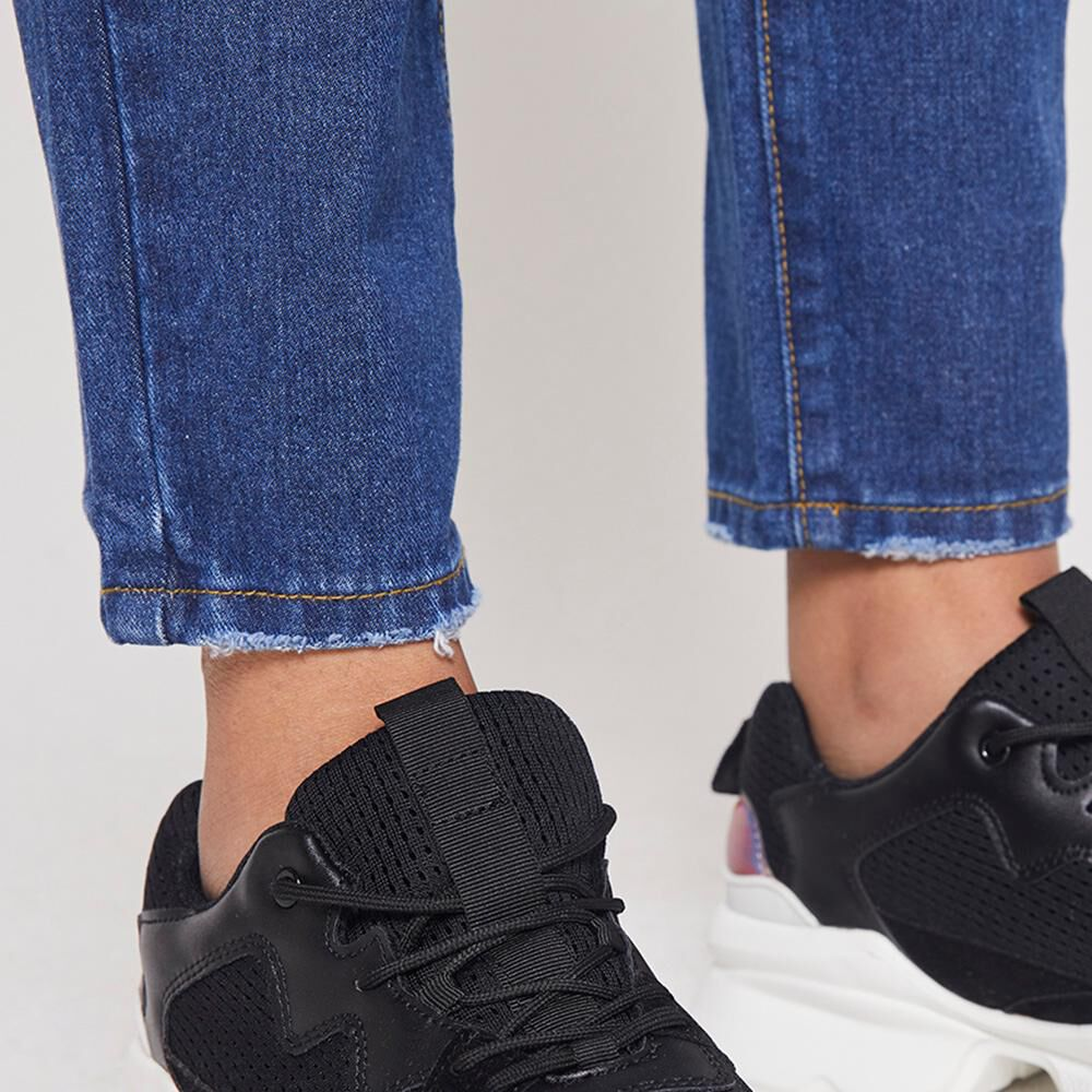 Jeans Mujer Tiro Alto Mom Rolly Go image number 4.0