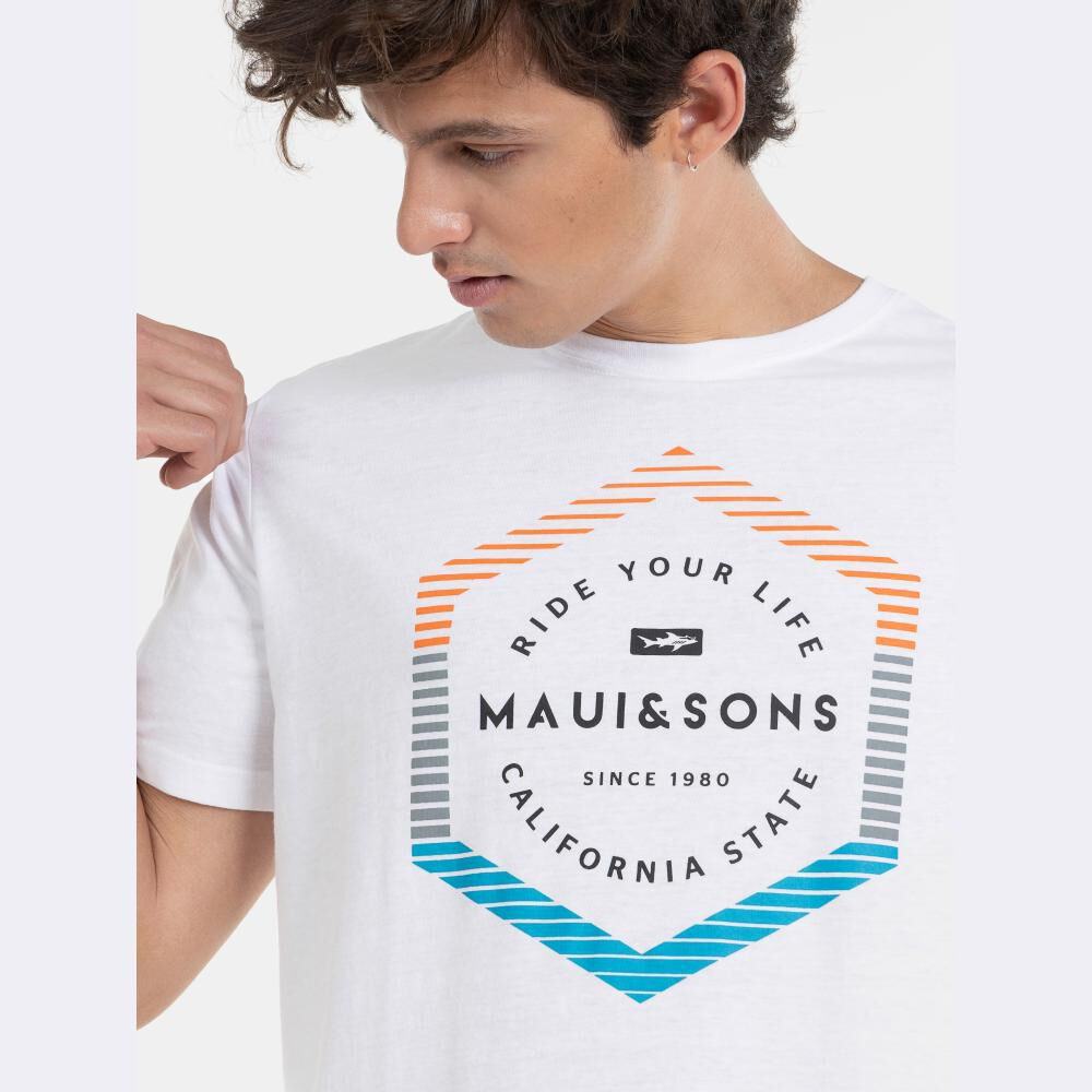 Polera Hombre Maui And Sons image number 2.0