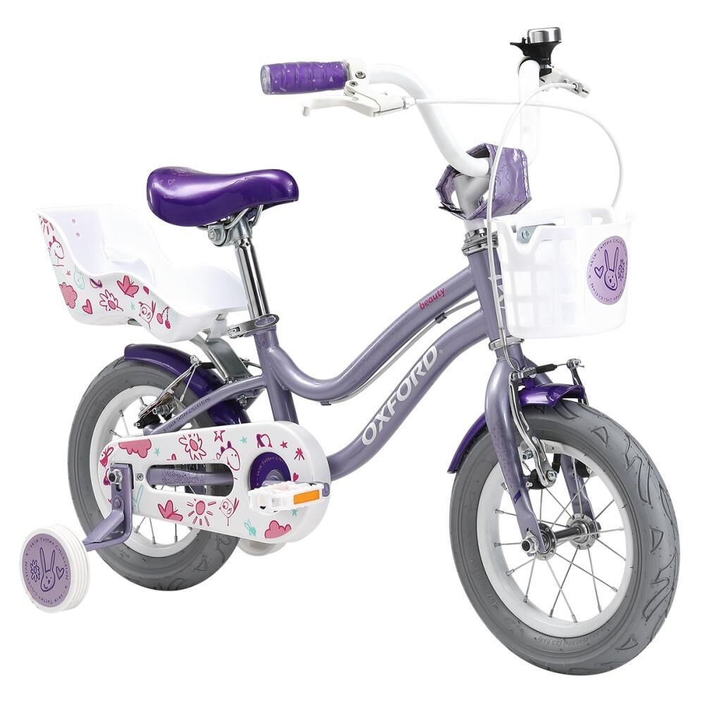 Bicicleta Infantil Oxford Beauty Aro 12 image number 1.0