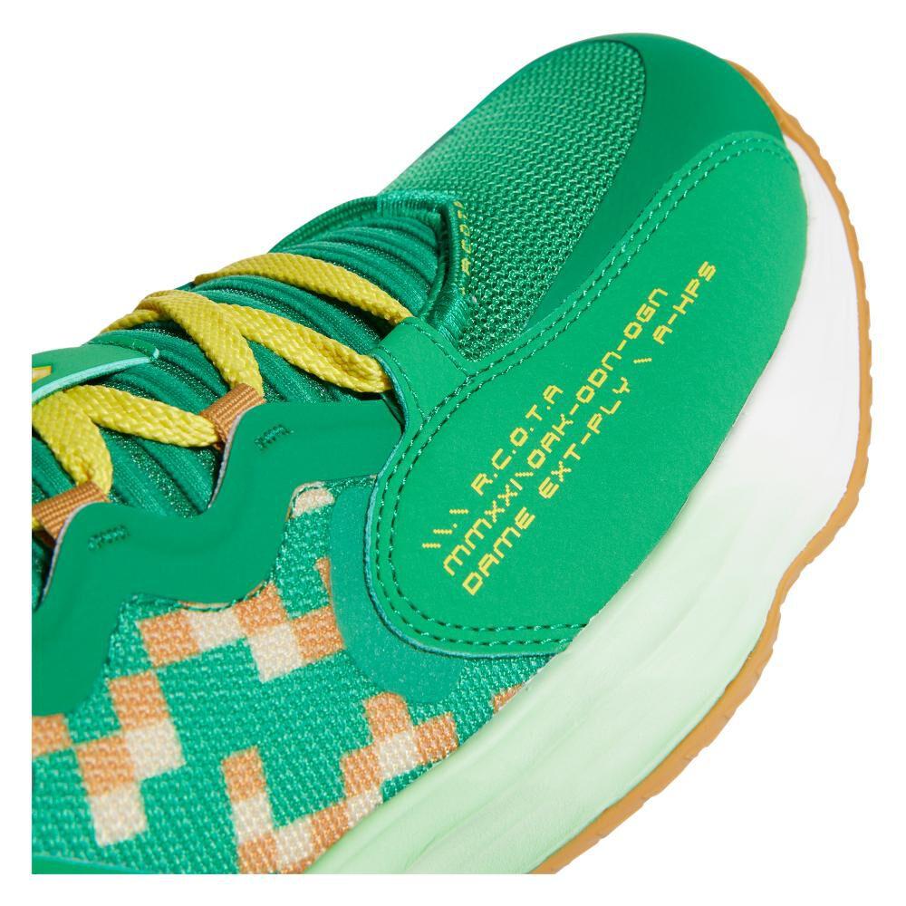 Zapatilla Basketball Hombre Adidas Dame 7 Extply image number 4.0
