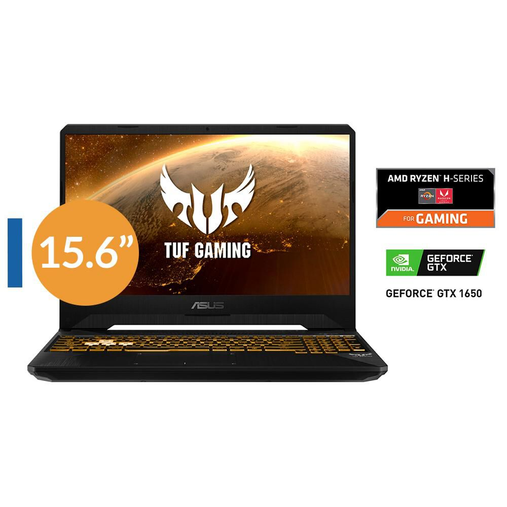 "Notebook Asus Tuf Gaming Fx505Dt / AMD Ryzen 5 / 8 GB RAM / 1 TB / 15.6"" image number 0.0"
