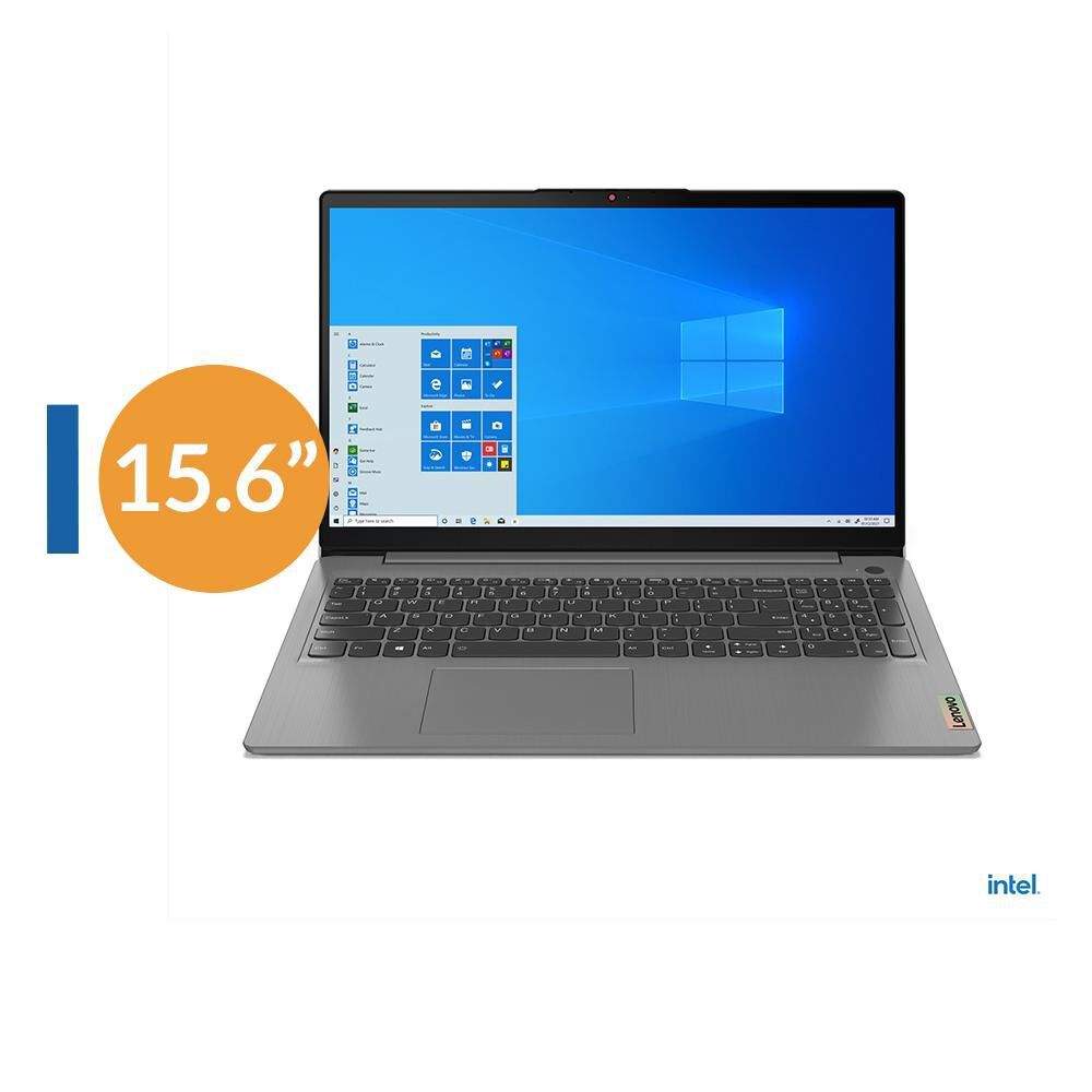 "Notebook Lenovo Ideapad 3 15itl6 / Arctic Grey / Intel Core I3 / 4 Gb Ram / Intel Uhd Graphics / 256 Gb Ssd / 15.6 "" image number 0.0"