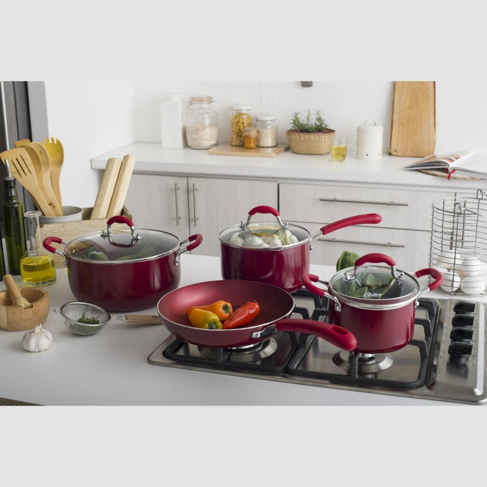 Bateria De Cocina Oster Colores / 7 Piezas image number 2.0