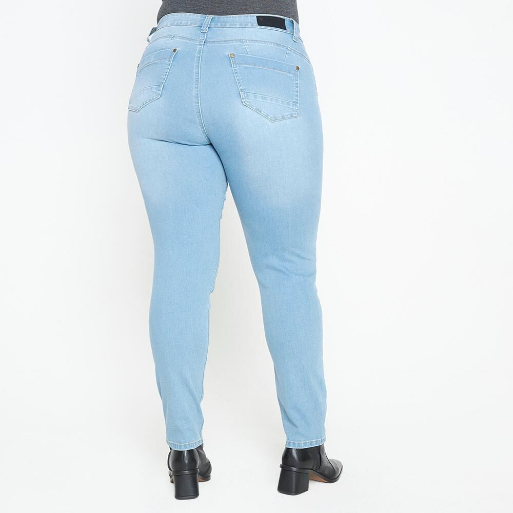 Jeans Mujer Tiro Alto Skinny Push up Sexy large image number 2.0