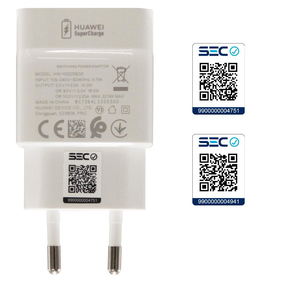 Cargador Para Celular Huawei Fastcharge Cp404 image number 4.0