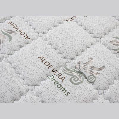 Cama Europea Celta Aloe Vera Pro / 2 Plazas / Base Box Spring Firm