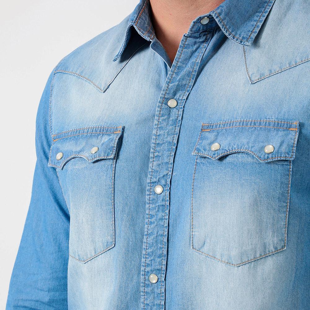 Camisa Denim Hombre Lee image number 3.0