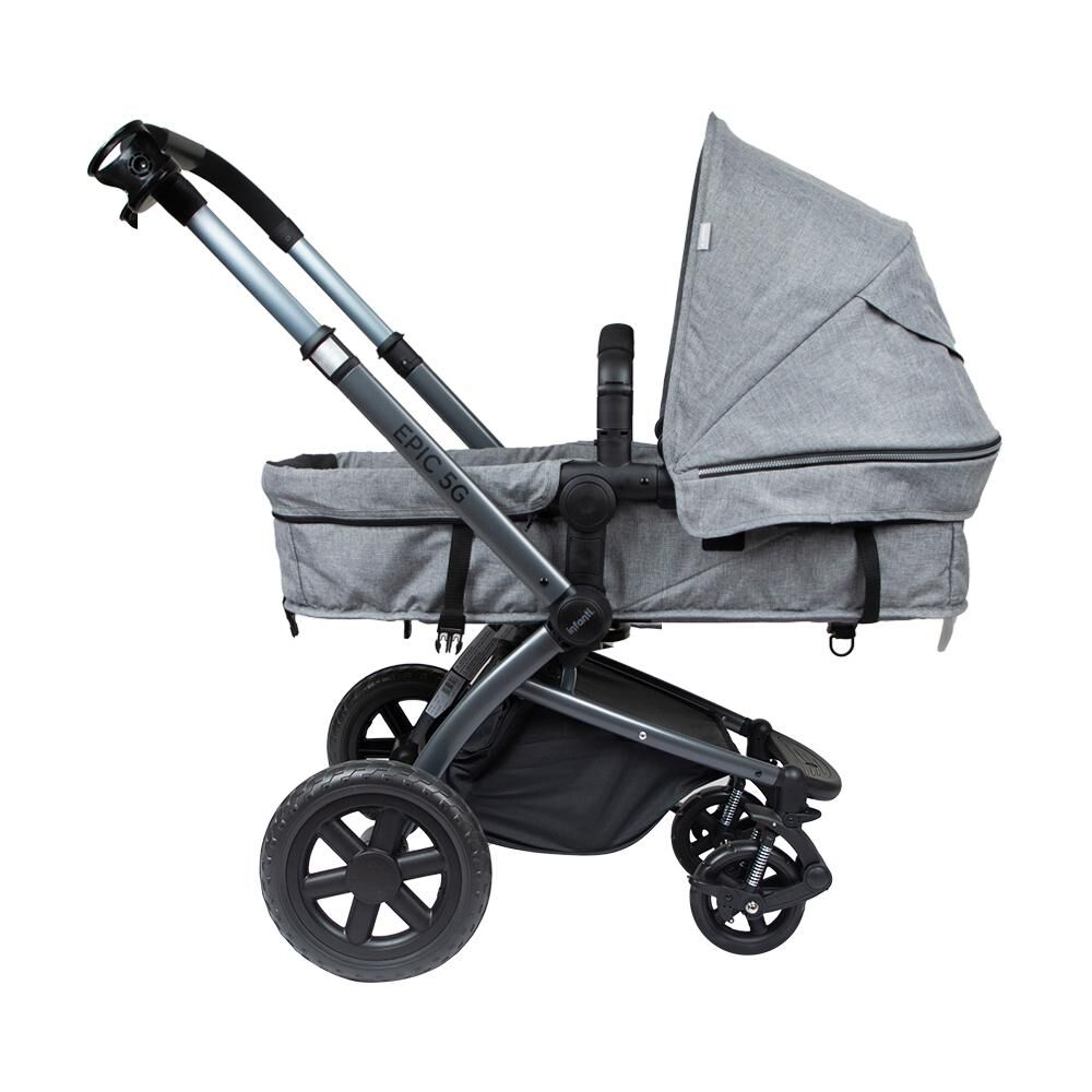 Coche Travel System Infanti System Epic 5g Grey image number 4.0