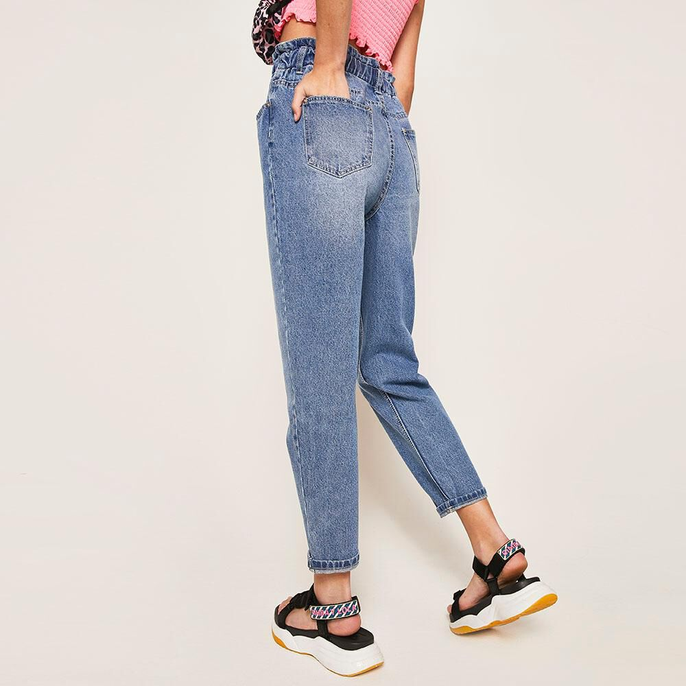Jeans Mom Mujer Freedom image number 2.0