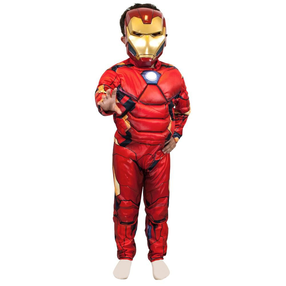 Disfraz Glam Ironman Deluxe / Talla 4/6 image number 0.0