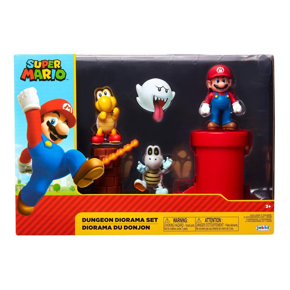 Figura Coleccionable Nintendo Playset Diorama Calabozos image number 0.0