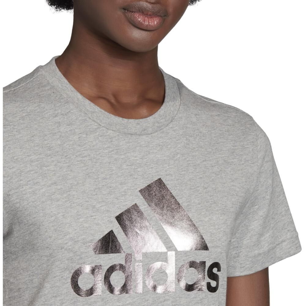 Polera Mujer Adidas Univvol Tee 2 W image number 4.0