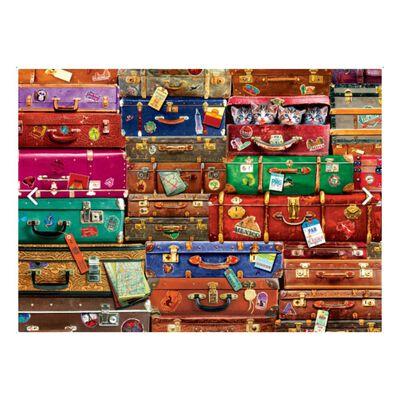 Puzzle Eurographics 6000-5468 Travel Suitcases