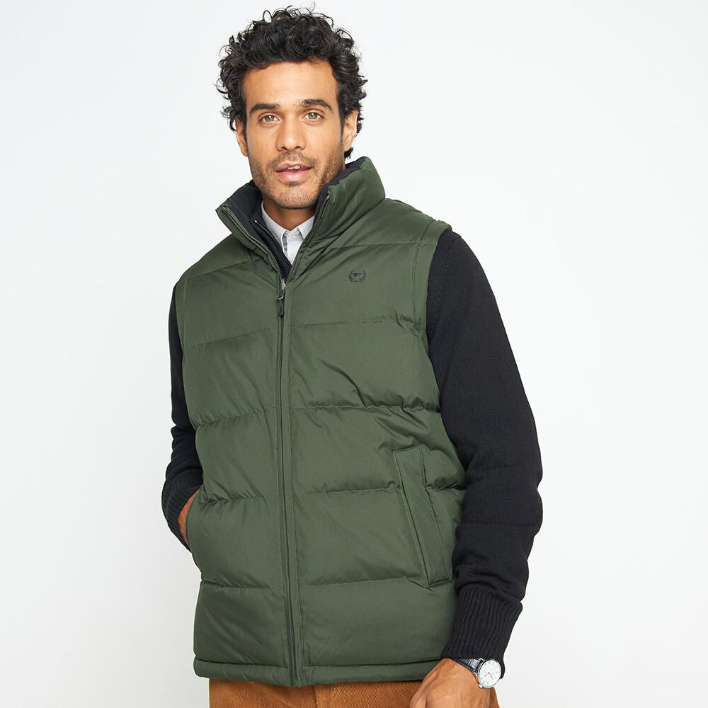 Parka Sin Mangas Reversible Hombre Peroe image number 0.0