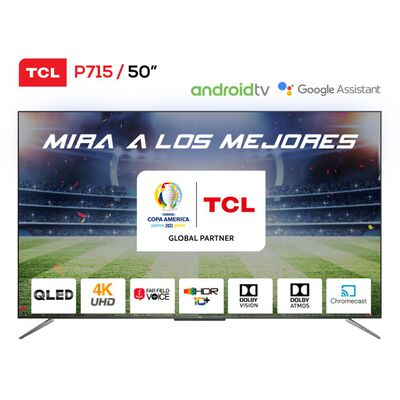 """Led TCL 50P715 / 50"""" / Ultra HD 4K / Android Tv"""