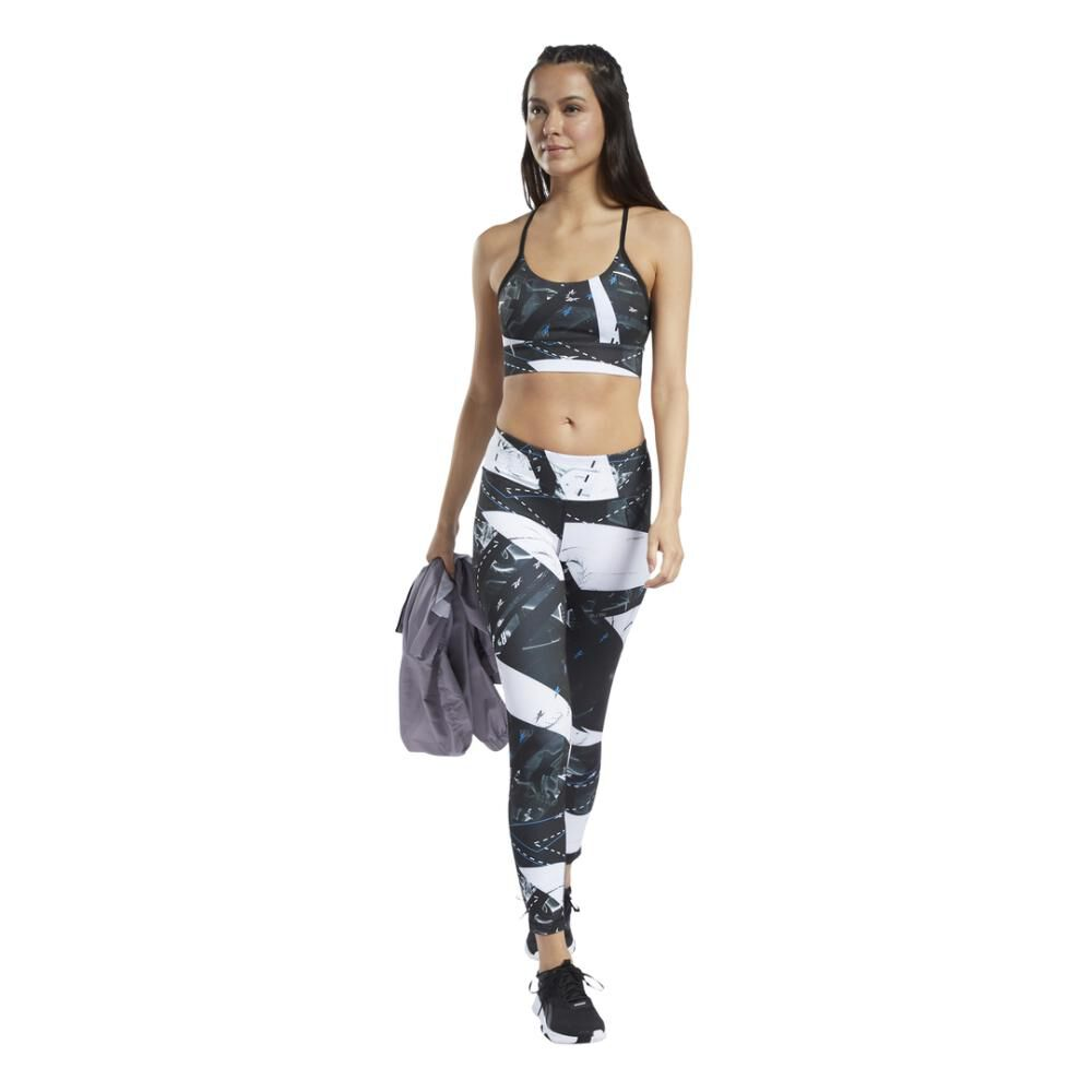 Calza Mujer Reebok Workout Ready Aop image number 2.0