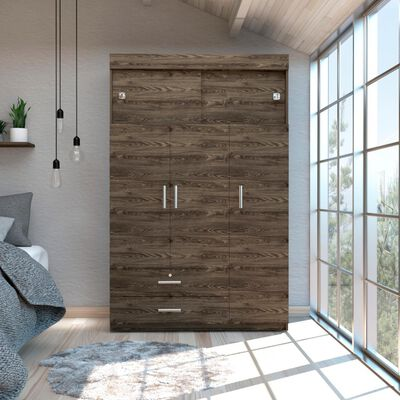 Closet Tuhome Z-120/ 5 Puertas/ 2 Cajones